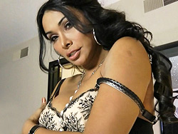 Las vegas moment Super hot tranny Vaniity stripping and playing with herself.